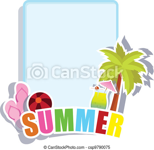 Beach Background Clipart Beach And Summer Background