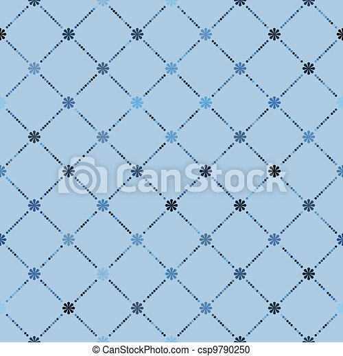 Retro dot pattern background. EPS 8 - csp9790250