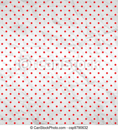 Polka dot pattern - csp9790632