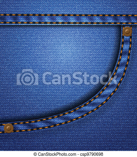 Jeans pocket - csp9790698