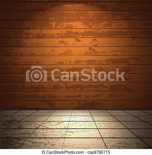 Clip arte vetor de madeira sala luz ch o coloridos for Sala de estar 3x5