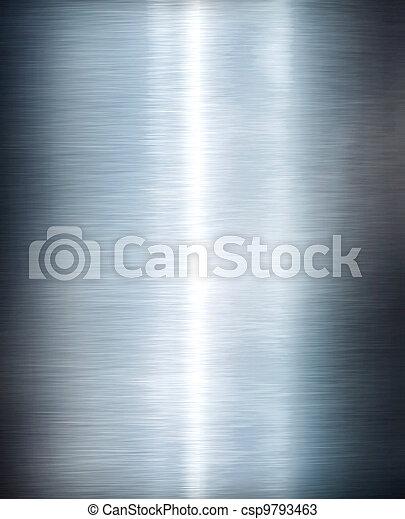 Metal plate steel background. Hi res texture - csp9793463