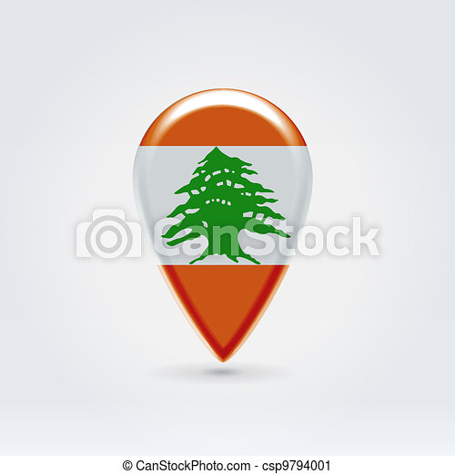 Geo location national point label - csp9794001