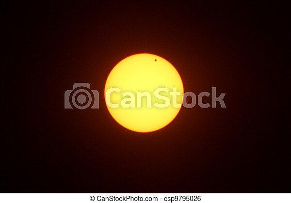 Venus Transit of Sun  - csp9795026