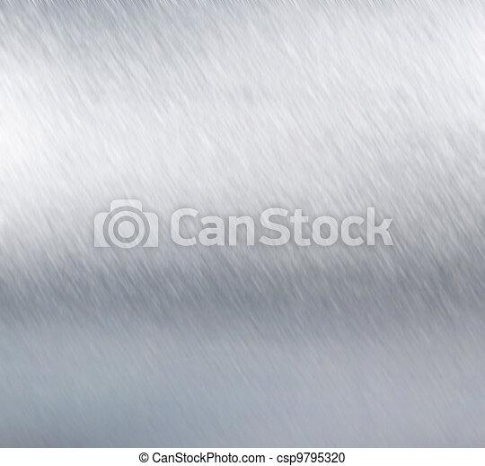 Metal plate steel background. Hi res texture - csp9795320