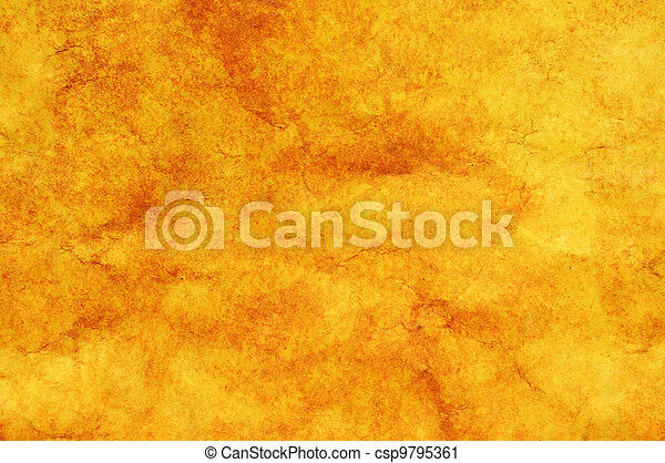 Yellow gold background texture - csp9795361
