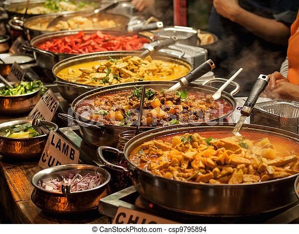 Oriental food - csp9795894