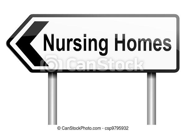 Nursing home concept. - csp9795932