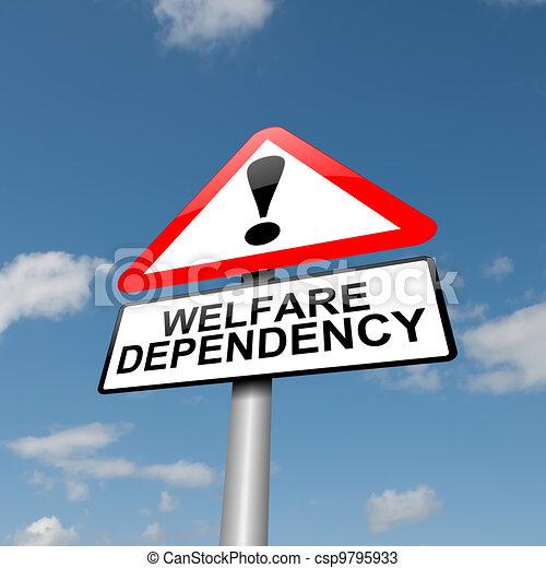 Welfare dependence. - csp9795933