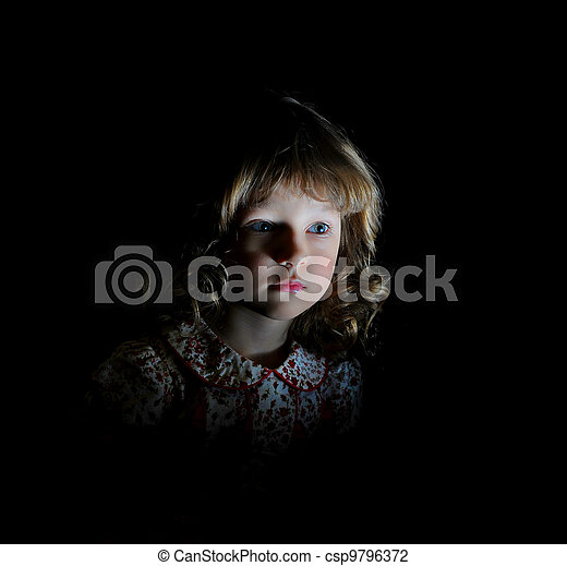 Portrait of a young girl - csp9796372