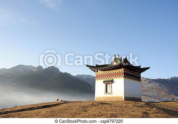 Tibetan shrine - csp9797220