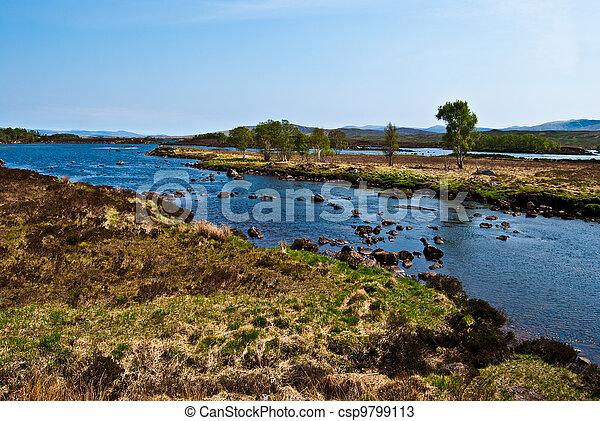 Rannoch Moor - csp9799113