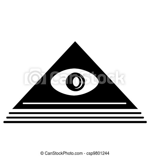 Pyramid Eye - csp9801244