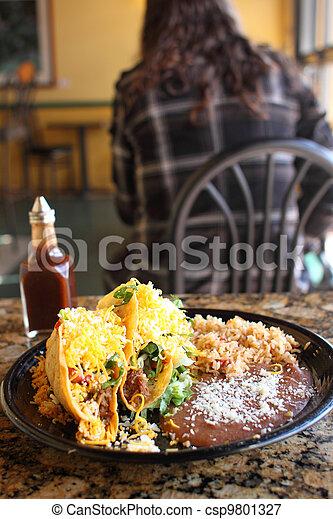 Delicious crunchy tacos - csp9801327