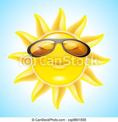 Smiling Sun - csp9801658