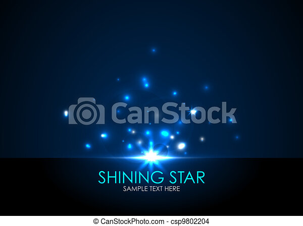 Vector shining star - csp9802204