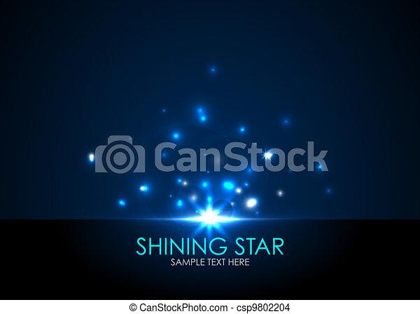 Vector shining star - csp9802204