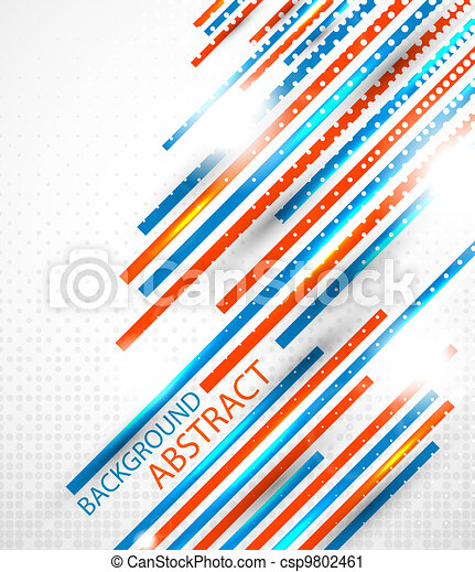 Abstract straight lines background - csp9802461