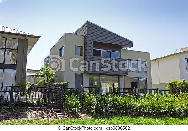 Modern Australian house - csp9806502