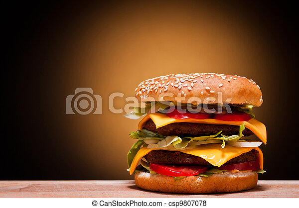 large hamburger - csp9807078
