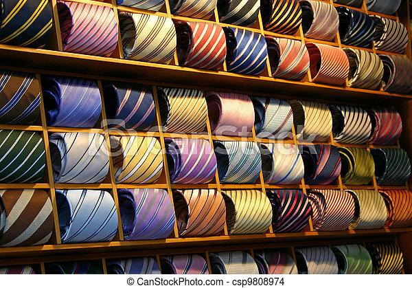 Tie Shelf - csp9808974