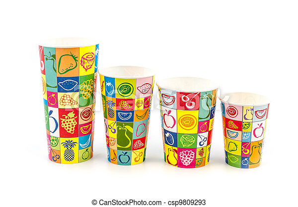 Refreshment Paper cups - csp9809293