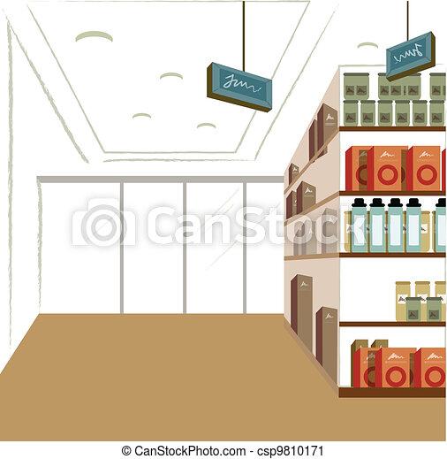 Shop interior  - csp9810171