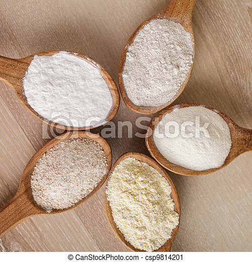 Types of flour - csp9814201