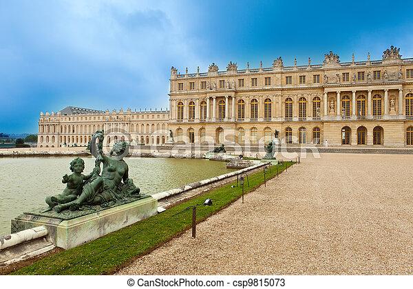 Versailles, France. Palace  - csp9815073