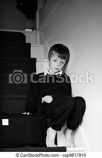 Lonely child. - csp9817910