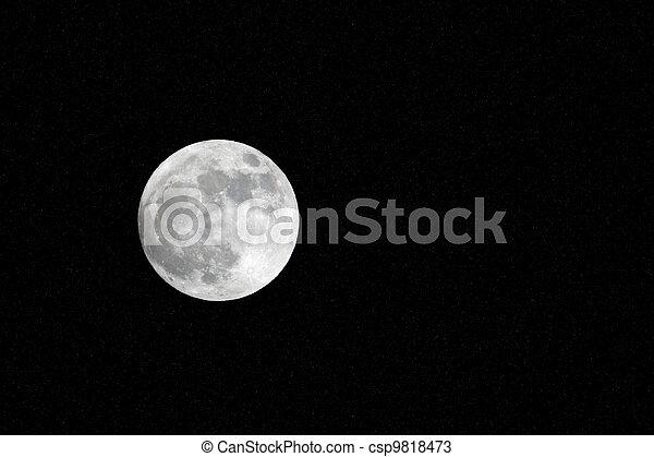 Full Moon - csp9818473