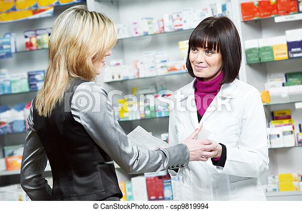 medical pharmacy drug purchase - csp9819994