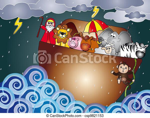 noah ark - csp9821153