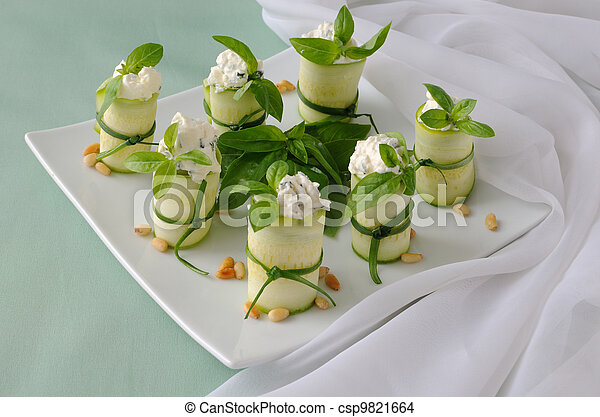 Rolls zucchini - csp9821664
