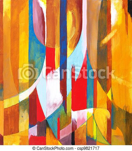 Orange Sided - csp9821717