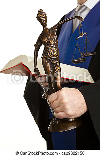 judge with code and justice - csp9822150