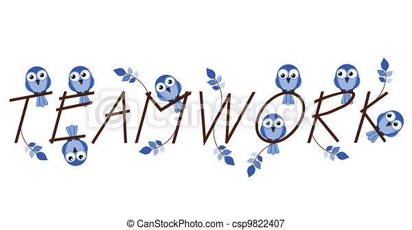 Teamwork - csp9822407