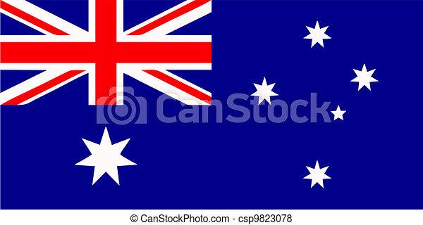Australian flag - csp9823078