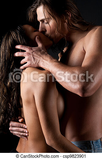 Passionate couple having sex - csp9823901