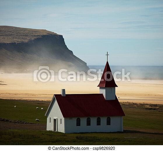 Church in Iceland - csp9826920