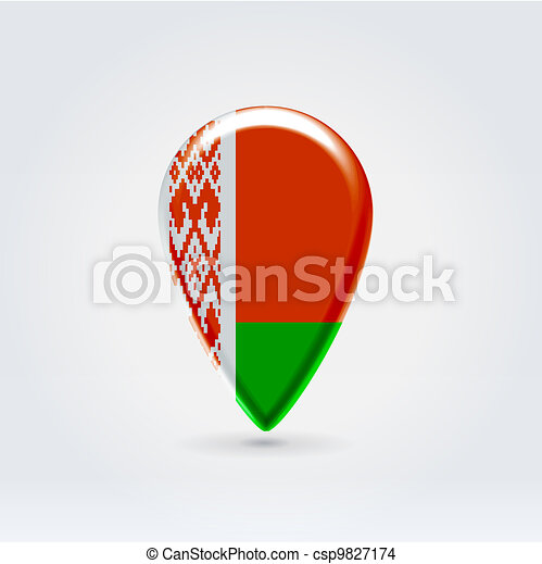 Geo location national point label - csp9827174