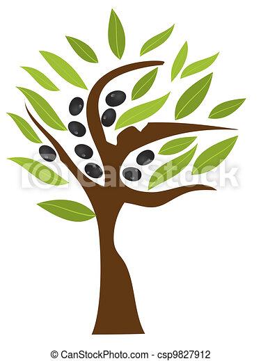 olive tree - csp9827912