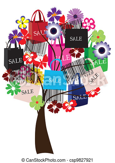 sale tree - csp9827921