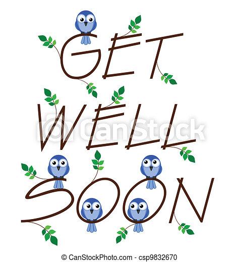 Get well soon  - csp9832670