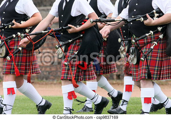 Scottish Pipe Band - csp9837169