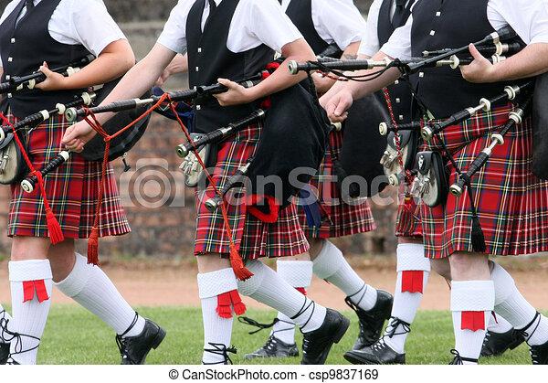 Scottish Pipe Band - csp9837169