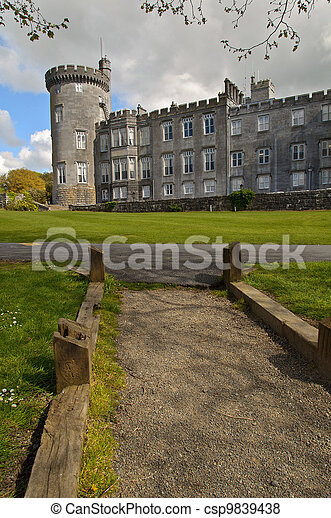 dromoland castle hotel, county clare, ireland - csp9839438