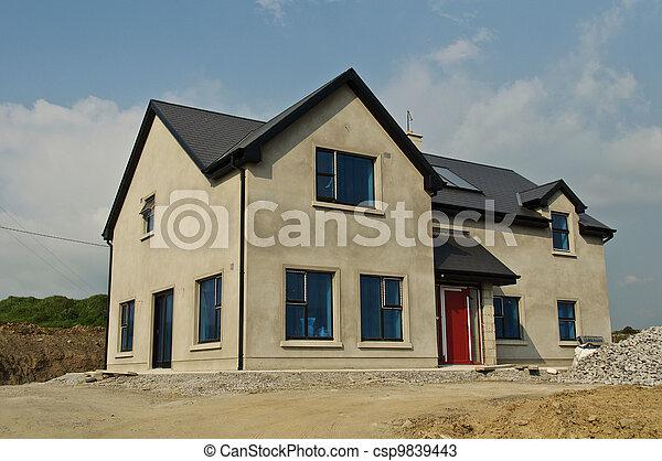 Stock foto 39 s van woning beton bouwen nieuw woning for Nieuw huis bouwen