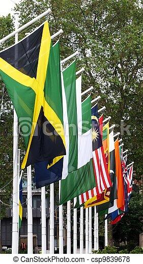 jamaican flag pole - photo #44