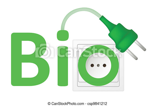 ecological concept, symbolizing bio energy - csp9841212